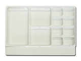 Show details for  TRAY - 11 compartments 1pcs