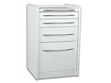 Show details for MOBILE UNIT GE414 4 drawers 49 cm - white 1pcs