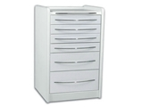 Show details for MOBILE UNIT GE419 6 drawers 49 cm - white 1pcs