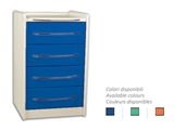 Show details for  MOBILE UNIT GE416 4 drawers 49 cm - any colour 1pcs