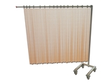 Show details for  TROLLEY for 1 curtain - foldable - without curtain 1pcs