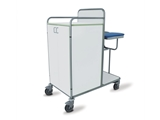 Show details for LAUNDRY TROLLEY - laminated 1pcs