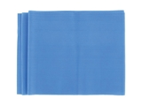 Show details for  LATEX-FREE EXERCISE BAND 1.5 m x 14 cm x 0.35 mm - blue 1pcs