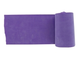 Show details for  LATEX-FREE EXERCISE BAND 5.5 m x 14 cm x 0.60 mm - violet 1pcs