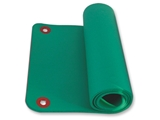 Show details for  EXERCISE MAT WITH HANG RINGS 180x60xh1.6 cm - green 1pcs