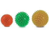 Vairāk informācijas par Masāžas bumbiņu komplekts diam. 6/7/8 cm 3 gb komplekta