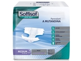 Show details for SOFFISOF AIR DRY INCONTINENCE PAD - heavy incontinence - medium box of 60