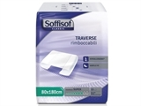 Show details for SOFFISOF ABSORBENT BED PADS 80x180 cm box of 90