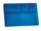 Показать информацию о ЛОТОК С ОТДЕЛЕНИЯМИ, 270x180x41 мм - пластик, 1 шт.