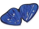 Show details for  PODIATRY HEART SHAPE KIT - blue - 6 pieces