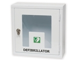 Show details for  CABINET WITH ALARM FOR DEFIBRILLATORS - indoor use