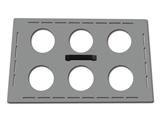 Vairāk informācijas par Vārglāzes pozicionēšanas vāciņš 6x600ml 35531-3 1gab