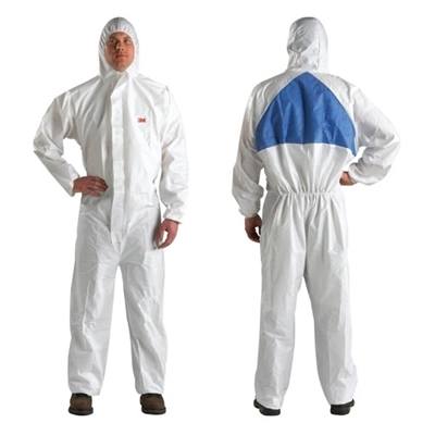 Picture of 3M Protective overall 4540, white L, 1 pc