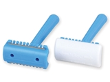 Show details for SURGICAL RAZORS - single blade with comb, 50 pcs.