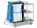 Show details for LAUNDRY TROLLEY - stainless steel, 1 pc.