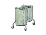 Show details for DOUBLE SOILED LINEN TROLLEY, 1 pc.