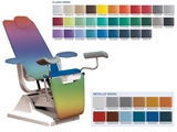 Show details for GYNEX BED CHAIR with roll holder - colour on request, 1 pc.