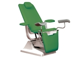 Show details for GYNEX BED CHAIR with roll holder - green, 1 pc.
