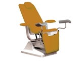 Show details for GYNEX BED CHAIR with roll holder - metal apricot, 1 pc.