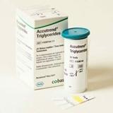 Show details for Triglicerīdu noteikšanas teststrēmeles, ACCUTREND ierīcei, 25 gab