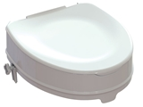 Show details for RAISED TOILET SEAT with fixing system - height 10 cm, 1 pc.