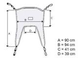 Показать информацию о УНИВЕРСАЛЬНЫЙ слинг - нагрузка 250 кг, 1 шт.
