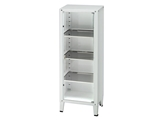 Show details for VALUE CABINET - 1 door - tempered glass, 1 pc.