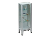 Show details for CABINET - 1 door - tempered glass, 1 pc.