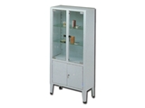 Show details for CABINET - 4 doors - tempered glass, 1 pc.