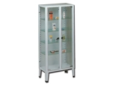 Show details for CABINET - 2 doors - tempered glass, 1 pc.