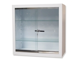 Show details for WALL CABINET - tempered glass, 1 pc.