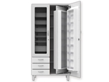 Show details for COMBO MEDICINE CABINET - bi-laminated board - white, 1 pc.