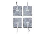Vairāk informācijas par Gelēti elektrodi, 45x35 mm, ar kabeli, 4 gab.