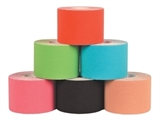 Show details for KINESIOLOGY TAPES 5 m x 5 cm - mix colours (box of 6)