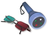 Show details for WORTH LED LIGHT TEST with red/green glasses, 1 pc.