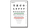 Show details for SNELLEN OPTOMETRIC CHART - 3 m - 23x35.5 cm, 1 pc.