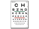 Show details for SLOAN OPTOMETRIC CHART - 6 m 23x35.5 cm, 1 pc.