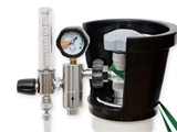 Show details for PRESSURE REDUCER with flowmeter and humidif. - BRITISH STD.