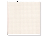 Show details for ECG thermal paper 210x280 mm x200s pack - orange grid, 1 pack