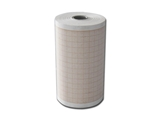 Show details for ECG thermal paper 80x25 mm x m roll - orange grid, 10 pcs.