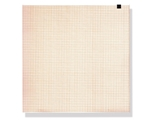 Show details for ECG thermal paper 210x295 mm x150s pack - orange grid, 1 pc.
