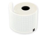 Show details for ECG thermal paper 50x30 mm x m roll - blue grid, 20 pcs.