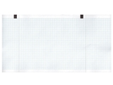 Show details for ECG thermal paper 130x27 mm x m roll - blue grid, 10 pcs.