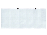 Show details for ECG thermal paper 120x18 mm x m roll - blue grid, 10 pcs.