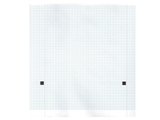 Show details for ECG thermal paper 210x20 mm x m roll - blue grid, 5 pcs.