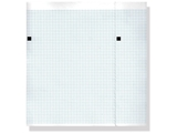 Show details for ECG thermal paper 210x150mm x200s pack - blue grid, 8 pcs.