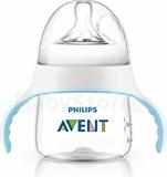 Show details for Natural training bottle 150 ml, medium flow, pacifier 4m +