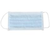 Показать информацию о AFLUID 98% фильтрующая маска хирурга 4-х слойная - голубая с петлями - тип IIR, 900 шт.
