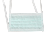 Show details for AFLUID 98% FILTERING SURGEON MASK 4 PLY - light green with lacets - type IIR, 600 pcs.