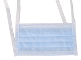 Show details for AFLUID 98% FILTERING SURGEON MASK 4 PLY - light blue with lacets - type IIR, 600 pcs.